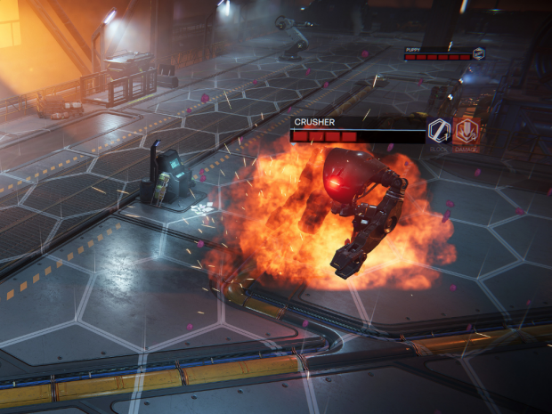 How to slay human-crushing robots, puppies & drones in our game