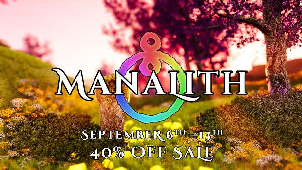 Manalith is 40% off this week!