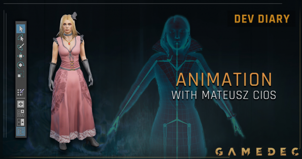 Dev-Diary: Animating a character in Gamedec with Mateusz Cios