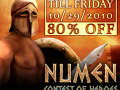 Save 80% on Numen: Contest of Heroes