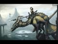 Timelapsed dragon rider art tutorial
