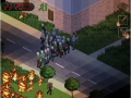 New lighting system and fire implemented