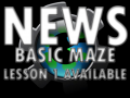 Basic Maze Game Lesson 1 now available