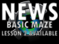 Basic Maze Game Lesson 2 now available