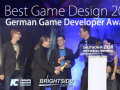 "Zeit² wins ""Best Game Design"" at German Game Developer Award 2011"