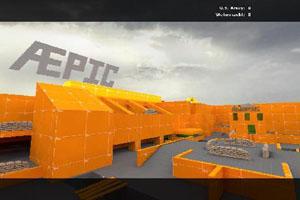 Epic Orange Arena