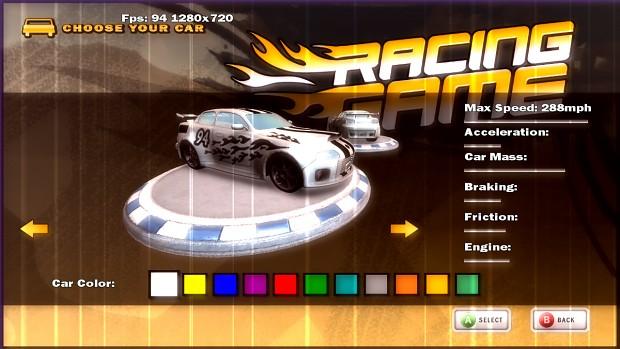 XNA 4.0 Racing Game Starter Kit