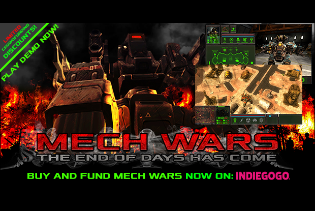 MECH WARS PRE-ALPHA DEMO
