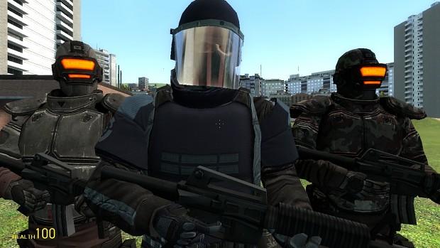 Fear Replica Soldier-ish combine Npcs