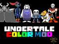 Undertale Color Mod: Repainted v1.02