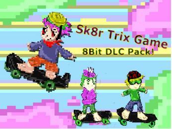 Sk8r Trix Game™ 8Bit Skin Pack