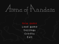 Arena of Anndara - Very first playable version