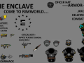 The Enclave for rimworld -NO X01--
