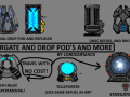 Stargate,Drop pods And more