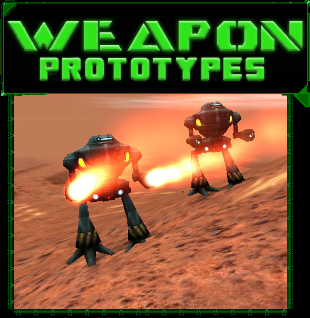 Prototype Weapons by Frenchox