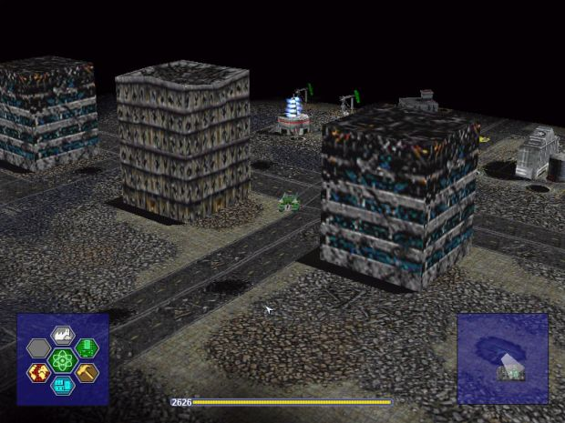 Warzone 2100 1.11 (mod for retail)