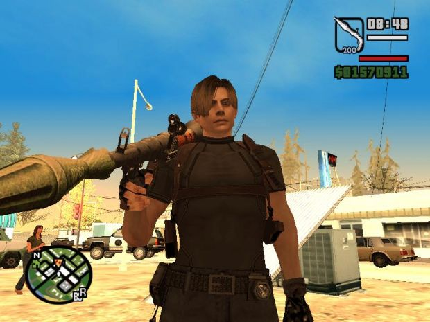 Leon Kennedy Skin for San Andreas