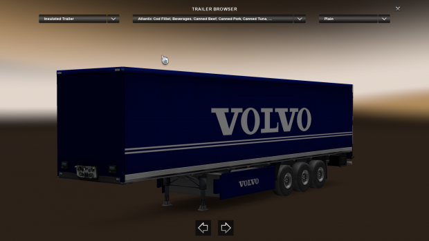 Volvo Skin Trailer