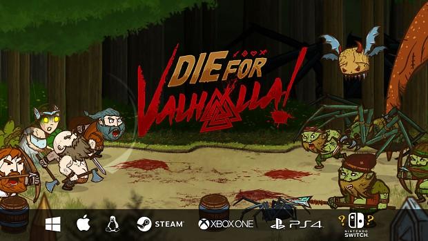 Die for Valhalla! Kickstarter