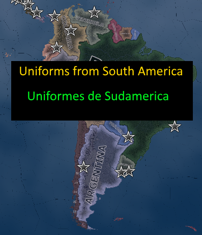 South American uniforms v1