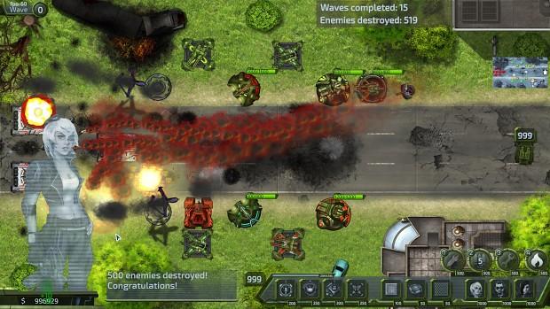 Molten Armor DEMOlinux32