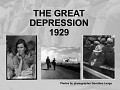The Great Depression 1929