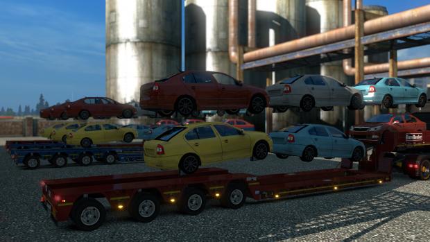 Goldhofer Cars
