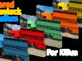 Painted Trailer Pack For Killua v2.1