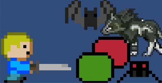 Crawling Dungeon app Alpha v0.0.1 Mac OS X