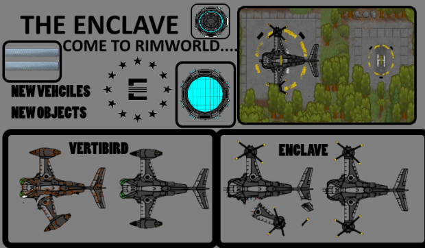 The Enclave -Vertibird- Wires/Console PATCH