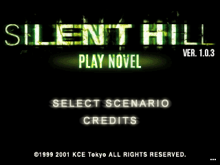 Silent Hill: Play Novel 1.0.3 (Outdated version)