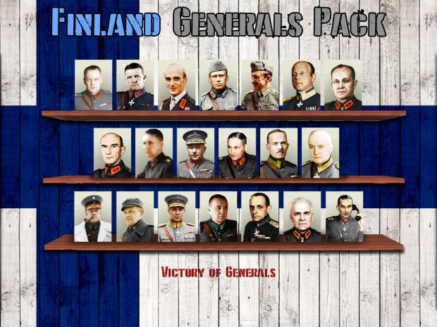 Victory of Generals : Finnish Generals Pack