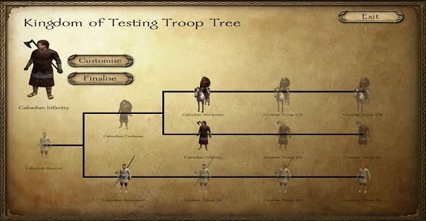 Custom Troop Trees (25/06/2017)
