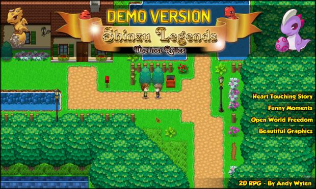 Shinzu Legends - The Lost Relics (Demo)