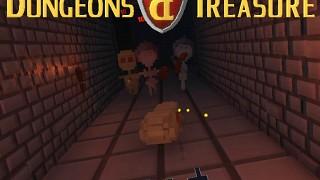 Dungeons & Treasure VR Roguelike Voxelgame v0.4a