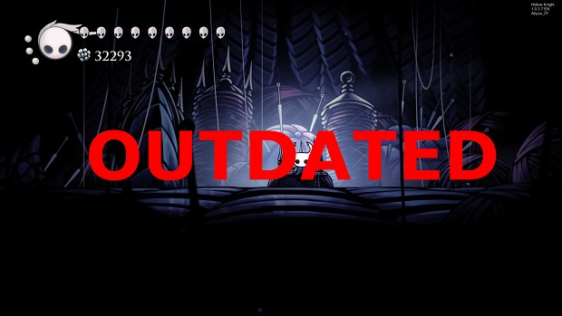Hollow Knight Cut Content Mod v1.0 [Steam 1.0.3.7]