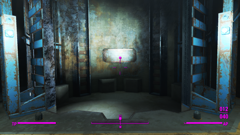 Fallout 4 Savegame exit of the vault