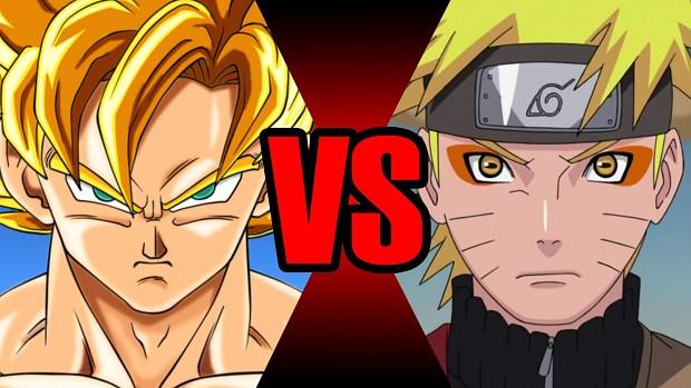 Dragonballz VS Naruto