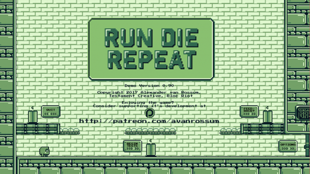 Run Die Repeat - Demo - MAC v 0.90