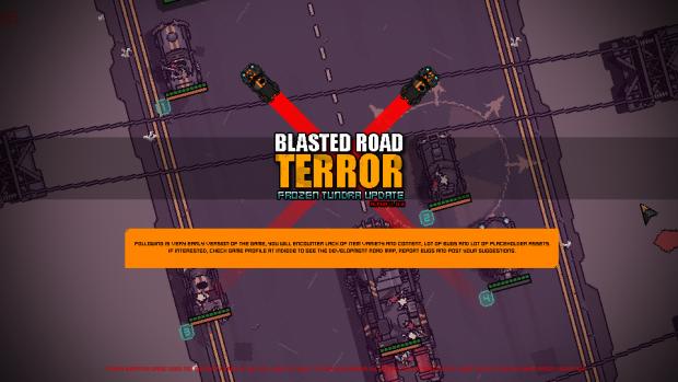 Blasted Road Terror v.0.3 - Frozen Tundra