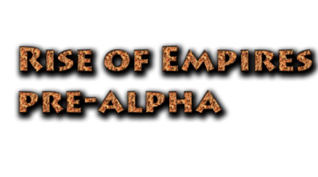 Rise of Empires pre-alpha