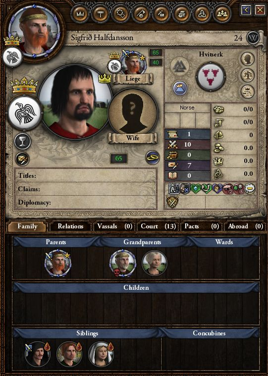 CK2 Xtended - Smooth Congenitals