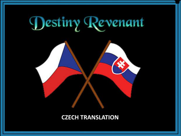 Destiny Revenant CZECH translation