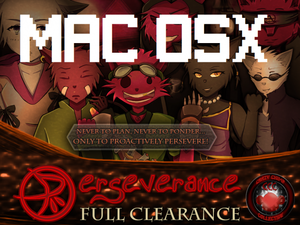 Perseverance Full Clearance (Macintosh Release)