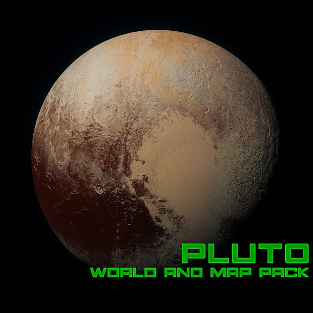 Pluto Map Pack