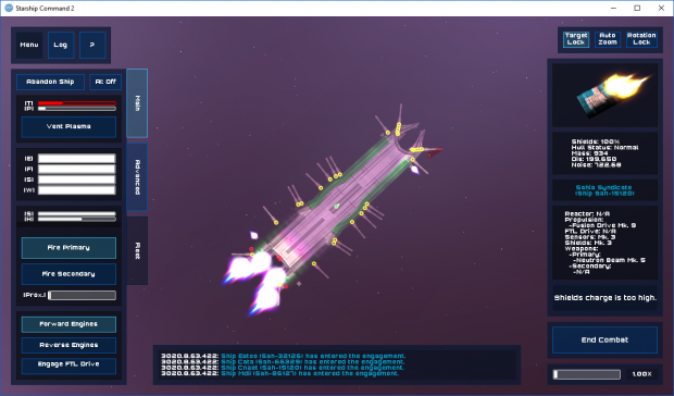 Starship Command 2 (Alpha Build 170926-0813)