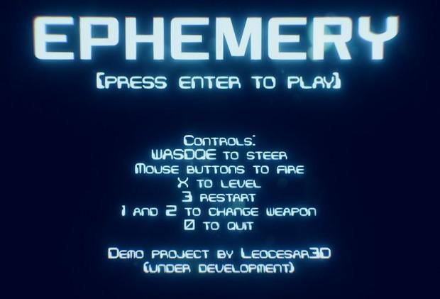 EPHEMERY GAME DEMO