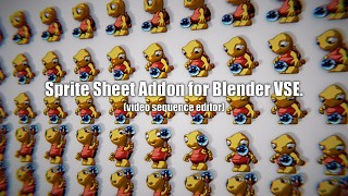 Sprite Sheet Addon for Blender VSE