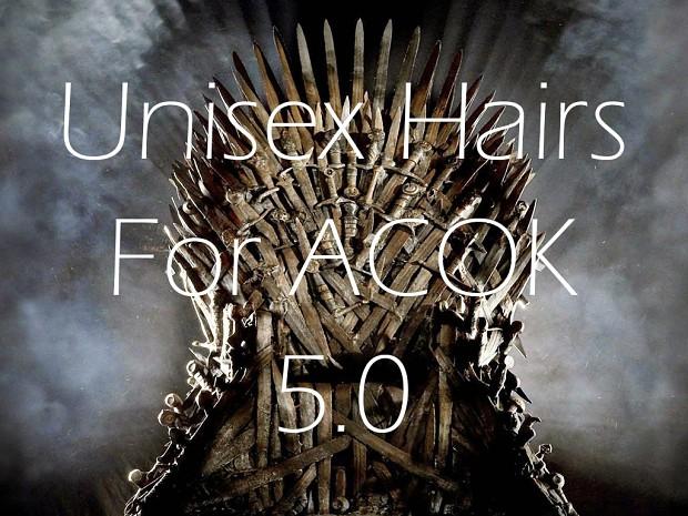 Unisex Hair for ACOK 5.0