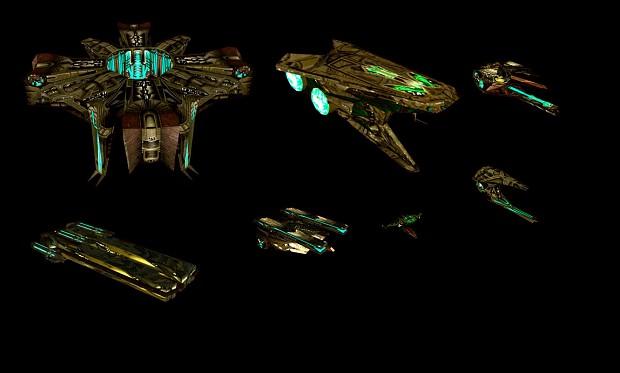 Polaris Sector Star Trek TMP Gorn ships